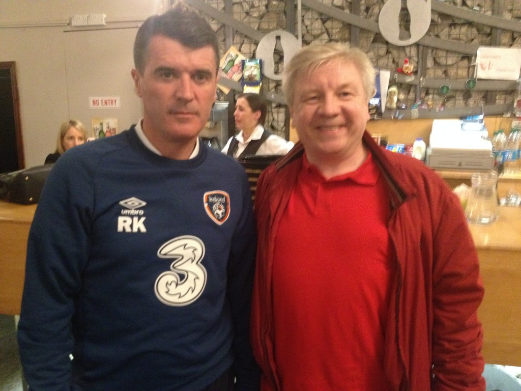 Michael and Roy Keane Olympia