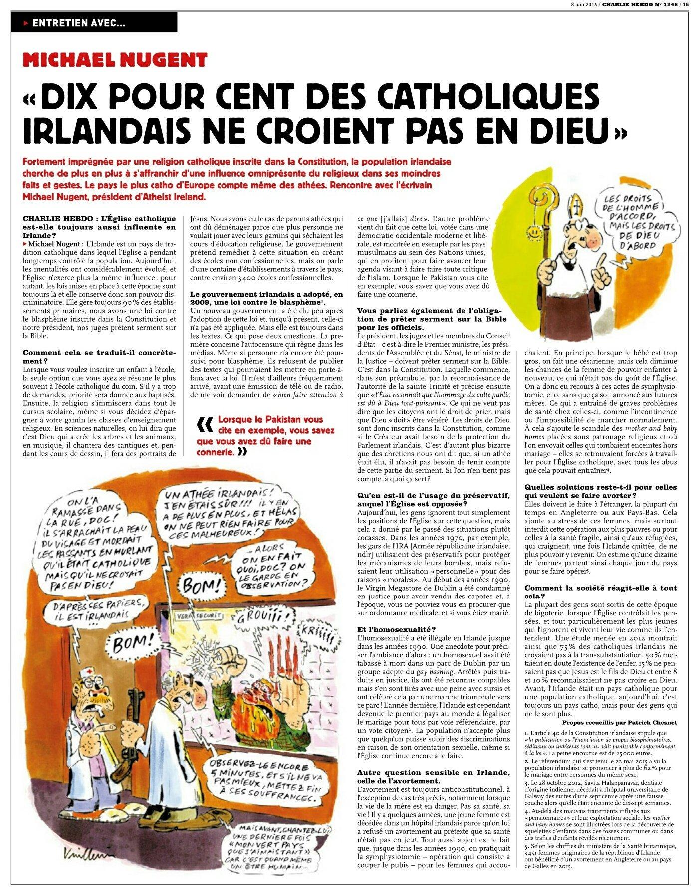 Charlie Hebdo Interview