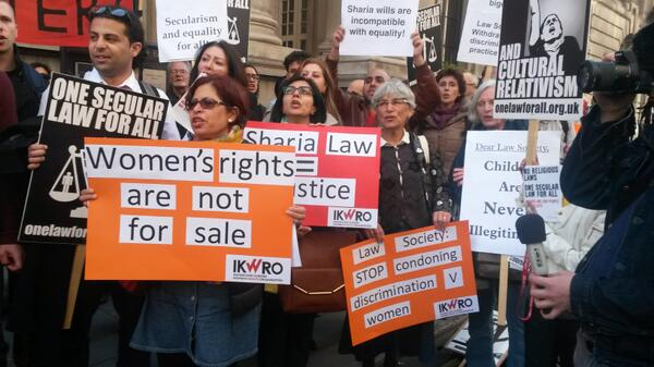 sharia protest