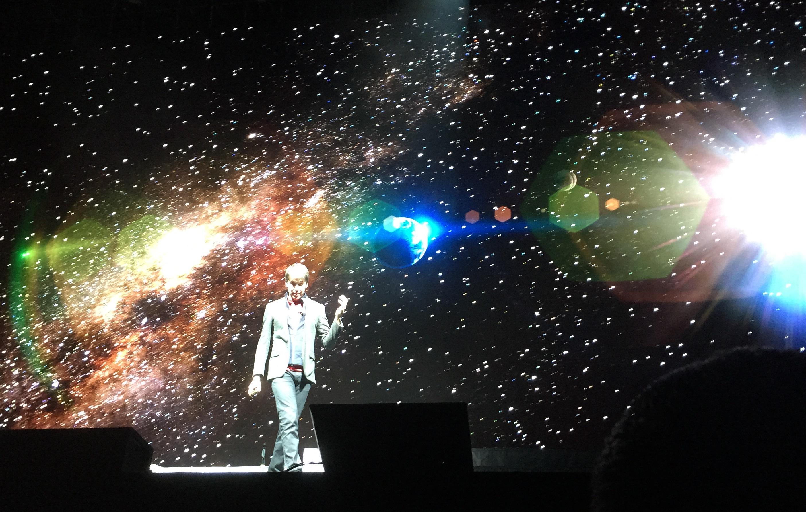 Brian Cox Galaxy Song