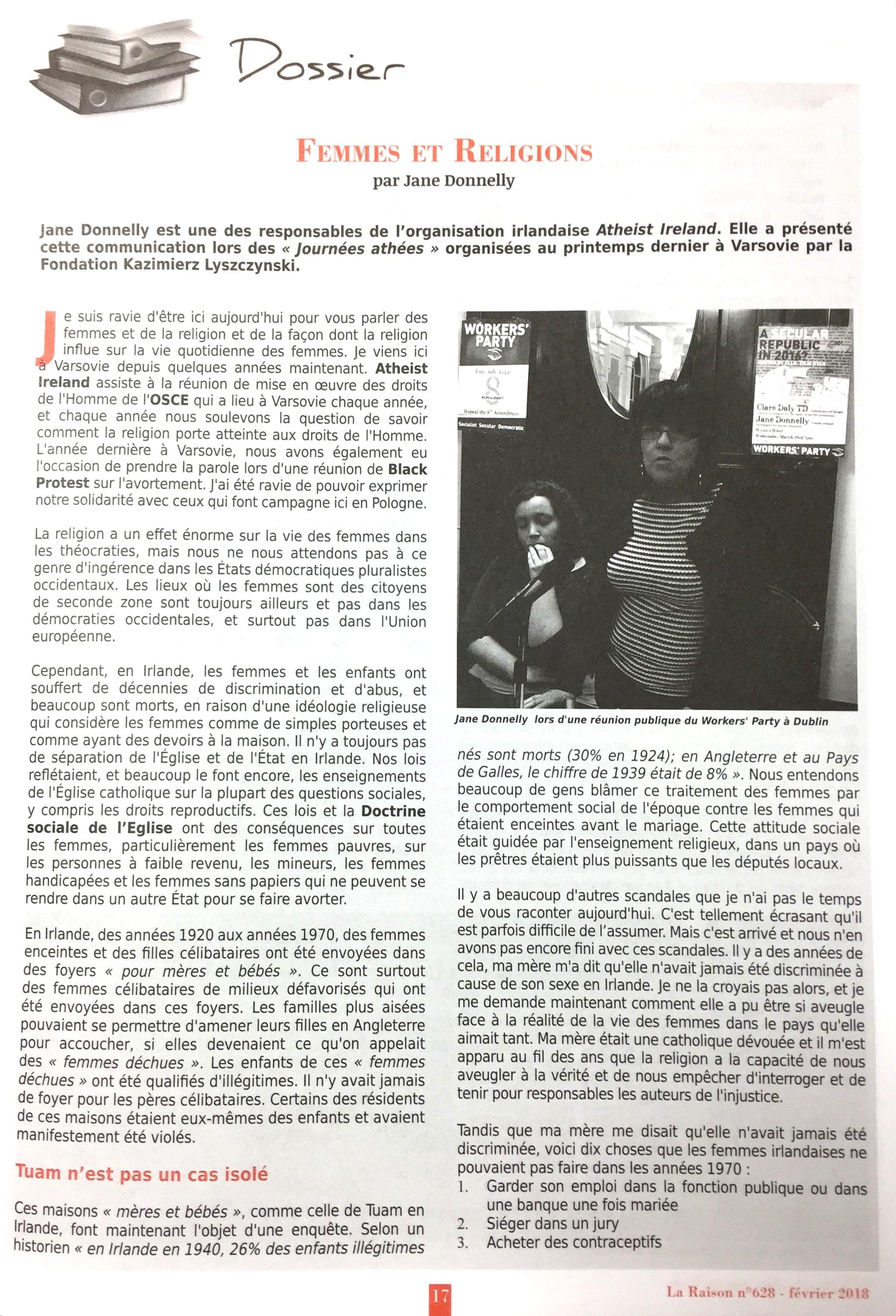 Jane La Raison page 1