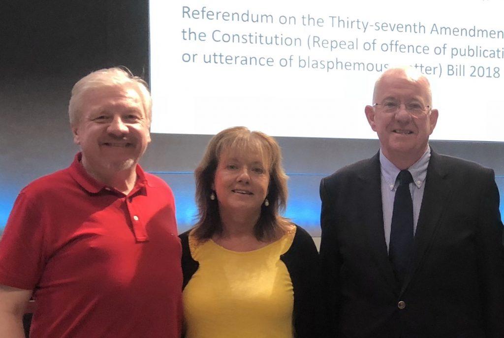 Ireland no longer has a blasphemy law