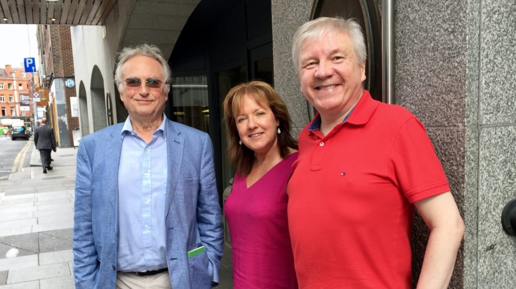 Richard Dawkins, Jane Donnelly, and Michael Nugent